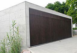 Fassadenplatten Holz flächenbündige lösungen pfullendorfer tor systeme